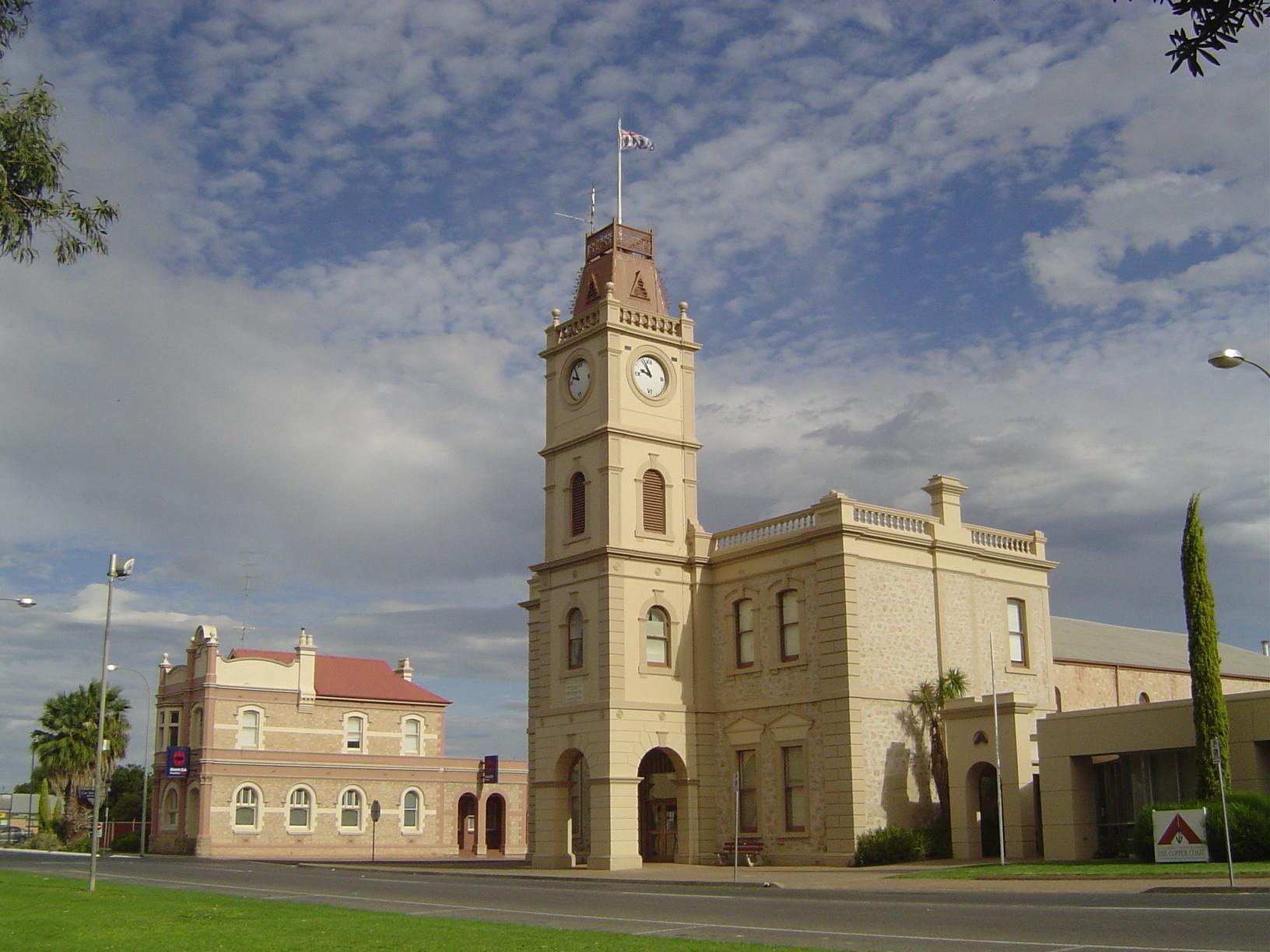 Kadina Australia  city pictures gallery : Town Hall, Kadina, Copper Triangle, South Australia