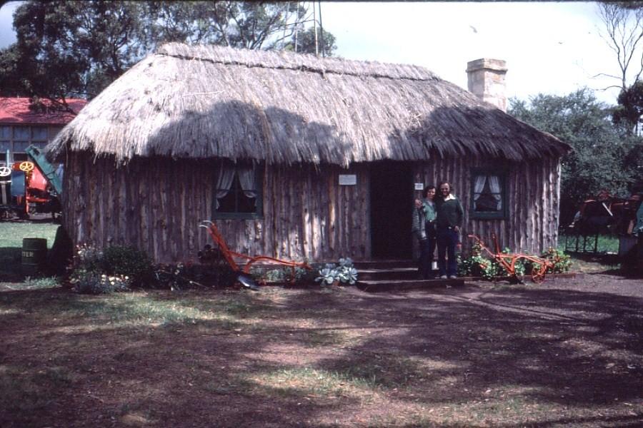 Koppio Thatched Cottage In 1981