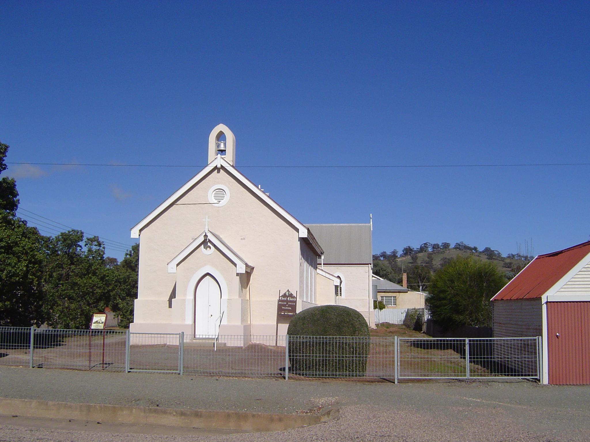 Wilmington Australia  city photos : ... Anglican 1885 , Wilmington, Upper North Region, South Australia